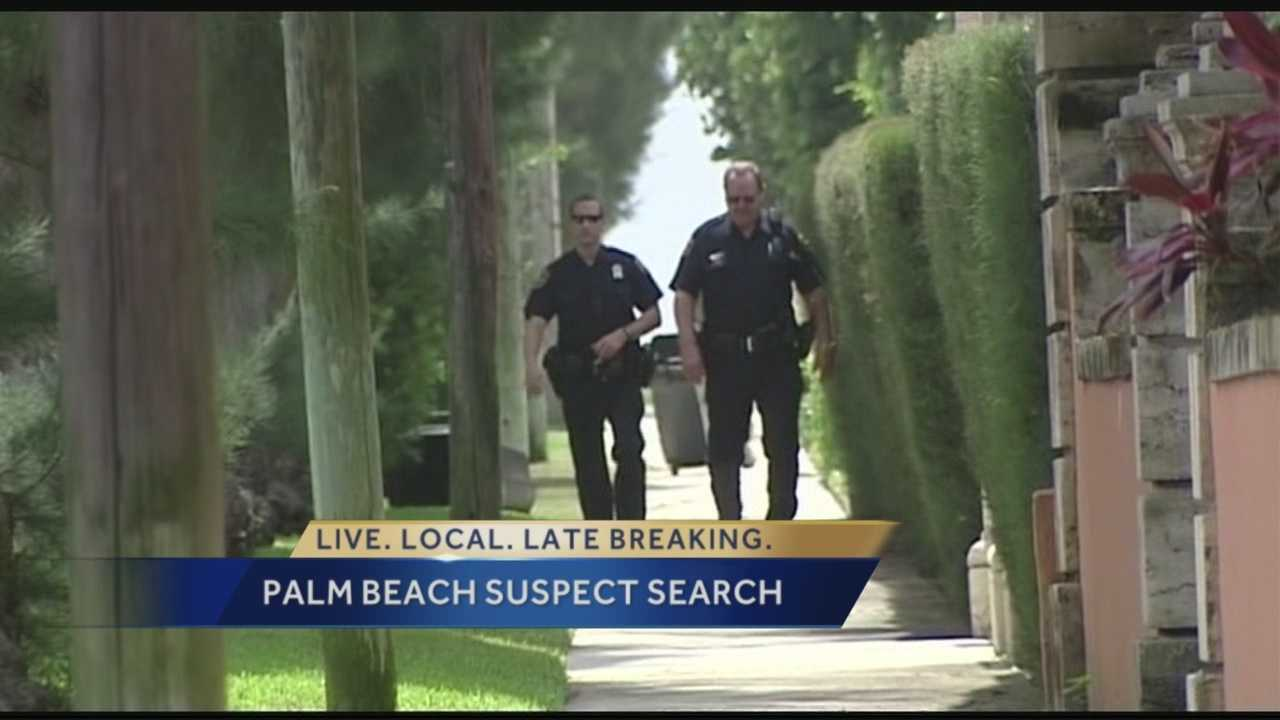 Law enforcement officers are continuing to search for suspects that they believe to be armed and dangerous, in connection to a homicide in Miami that left one person dead. A maintenance worker alerted police Tuesday of an abandoned car along Coconut Row in Palm Beach linked to the wanted suspect/s.