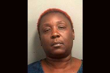 Patricia Ward was arrested and is facing charges for robbing a Wells Fargo bank on Palm Beach Lakes Blvd., threatening an employee with a box cutter, according to police.