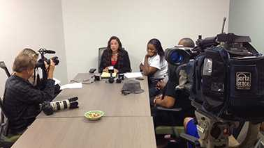 Family members of Tinoris Williams discuss intent to sue PBSO over his death.
