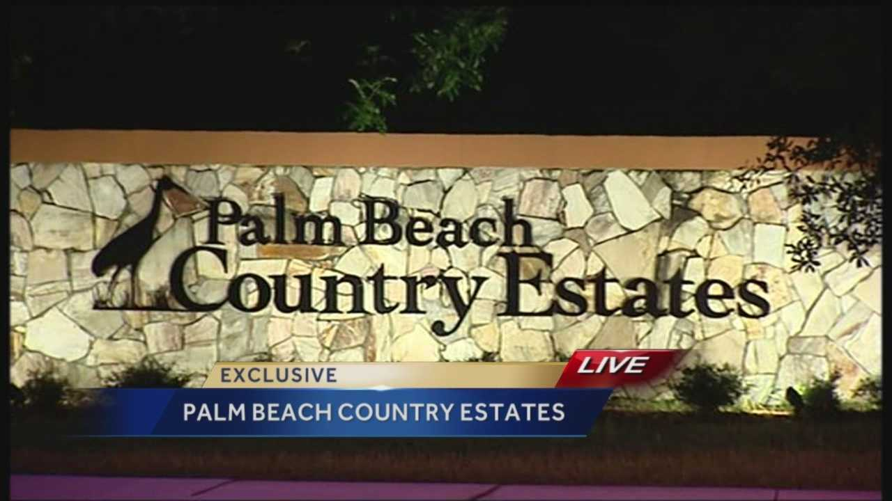 Residents in the Palm Beach County Estates are concerned over a rash of break-ins. Police say a three hour manhunt began after two suspected men threw a brick through a window and burglarized a home along 75th Ave. Residents think the men may be the pillowcase bandits connected to break-ins on the Treasure Coast.