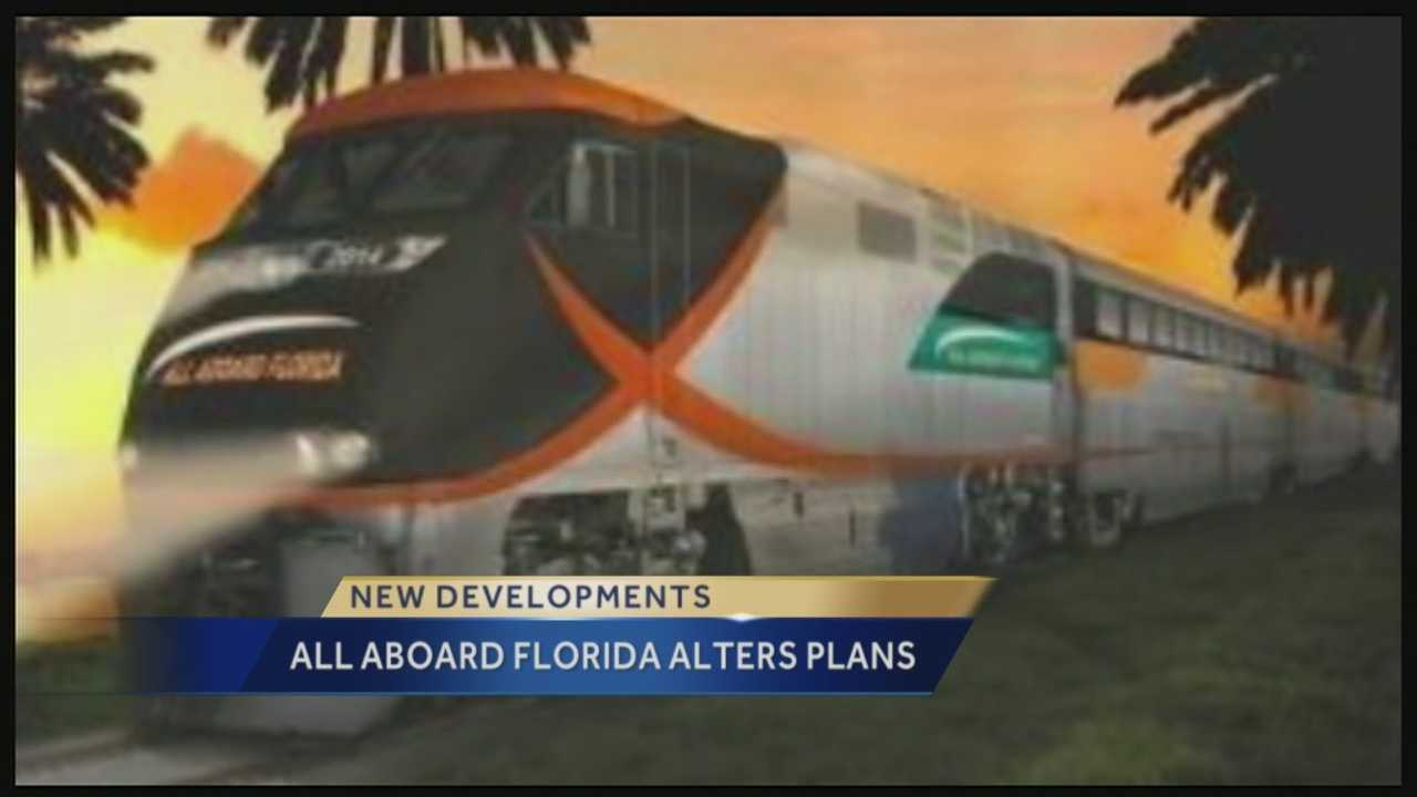 Delayed but not derailed, All Aboard Florida is planning to bring its high-speed trains to Florida in two phases.