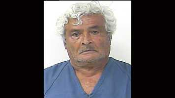 Port St. Lucie police arrested Angel Bracero, 77, on July 9 after his dog, known to be dangerous, attacked a neighbor while he was riding an electric scooter.