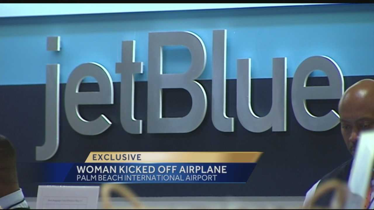 A woman is claiming anti-Semitism is to blame for her being thrown off a JetBlue flight leaving from Palm Beach International Airport this week. Reporter Ari Hait has the full report and exclusive details.