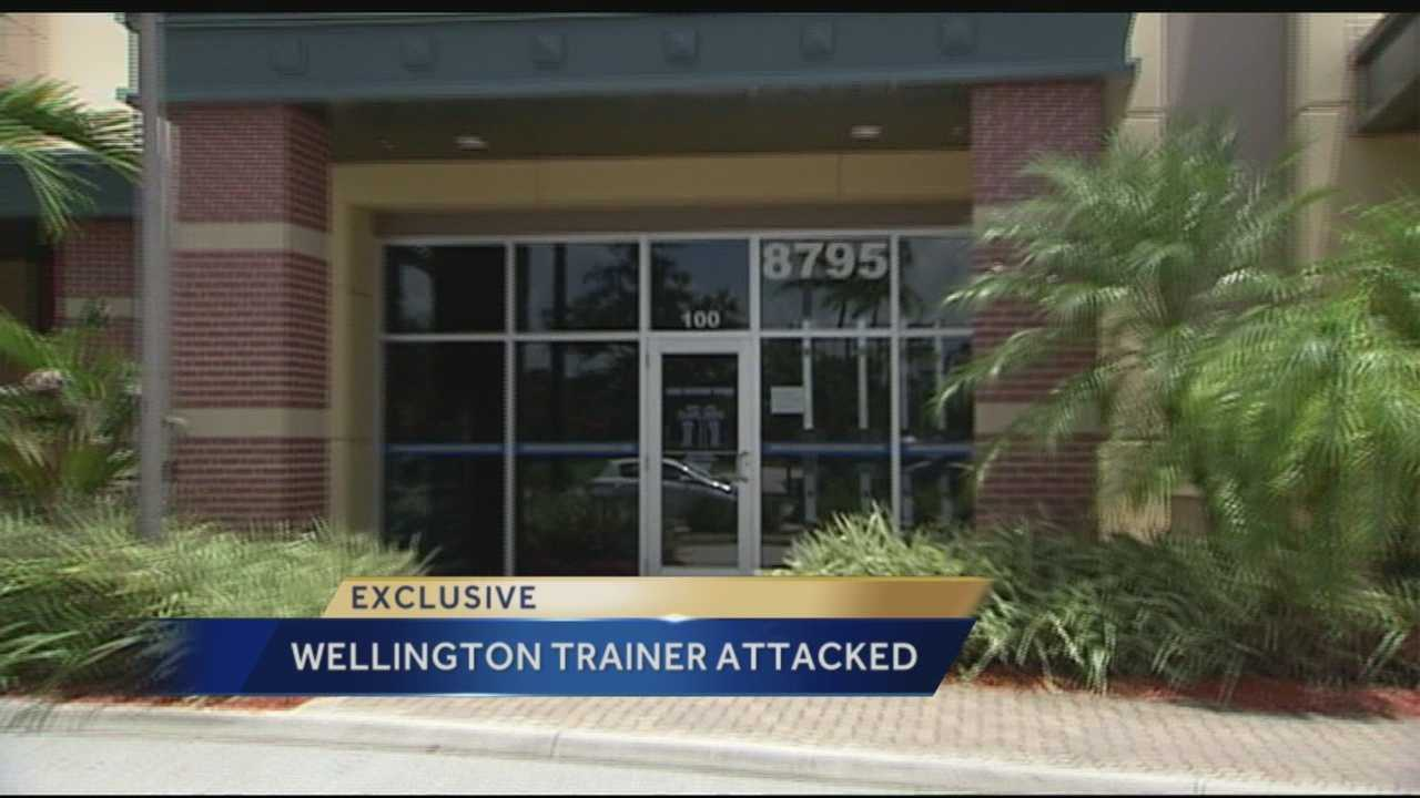 Man sought in attack on trainer