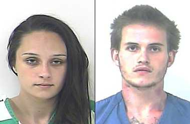 Mackenzie Lupinacci, 20, of Port St. Lucie, and Dennis Hohn, 22, of Fort Pierce were arrested July 11 and were booked in the St. Lucie County jail on prostitution charges, after a bust by St. Lucie County Sheriff's detectives.