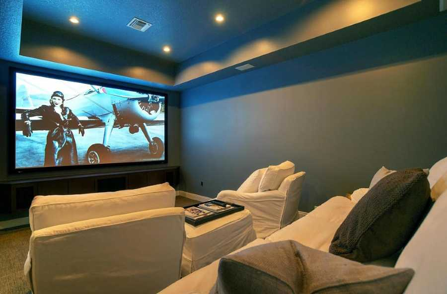 State of the art home theater.