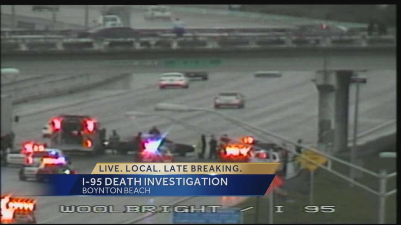 Body on I-95 puts brakes on traffic