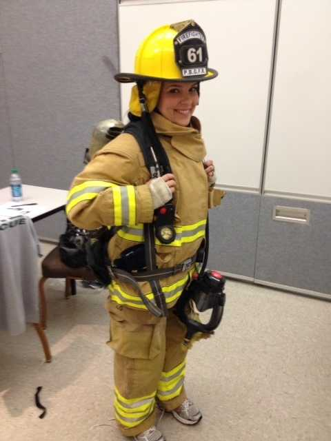 Reporter Stephanie Berzinski endured over a week and a half of firefighter training with Palm Beach Gardens Fire Rescue for a first-hand account of what these brave men and women go through to become a firefighter in Palm Beach County.