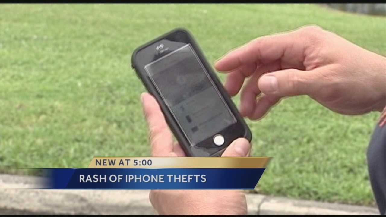 iPhone thefts