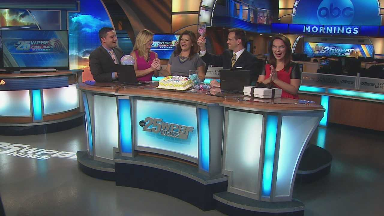 WPBF's Felicia Rodriguez had some big news live on-air! She is having a baby! She revealed the gender live to our WPBF family and viewers!