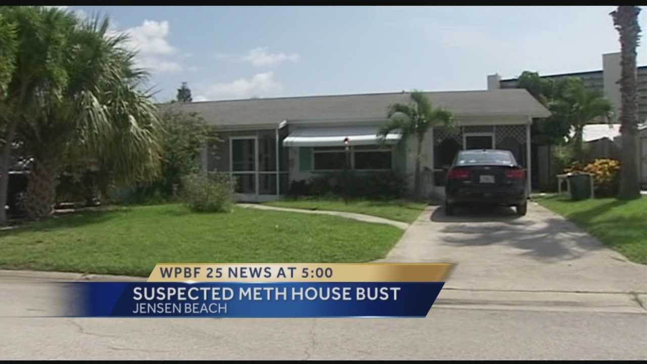 Drug agents raid Jensen Beach home