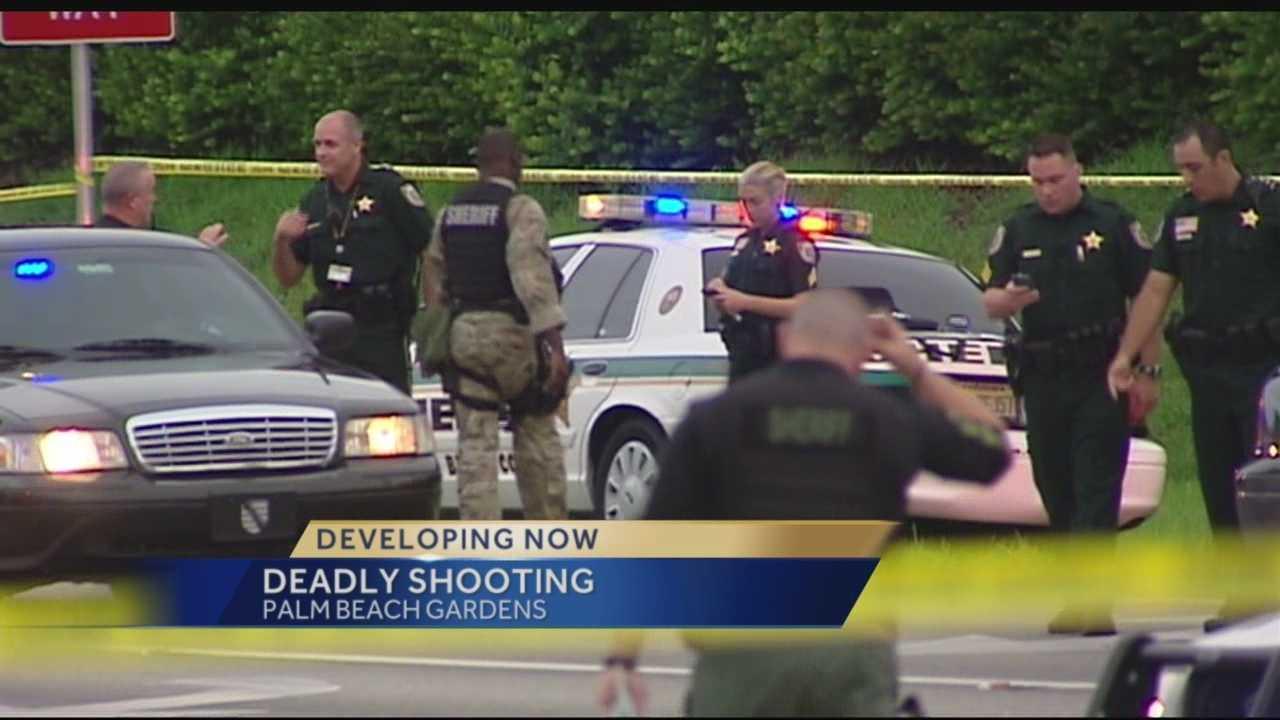 img-Man shoots himself I-95 PGA Boulevard exit ramp