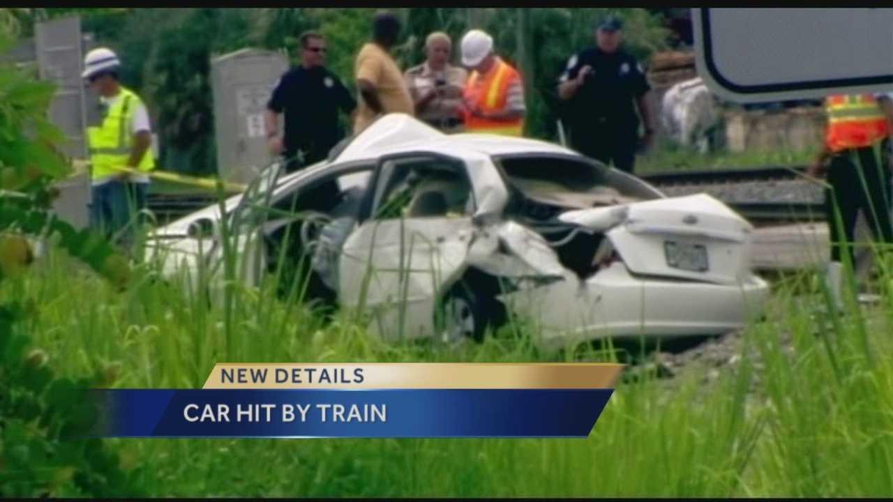Car hit by train in Mangonia Park