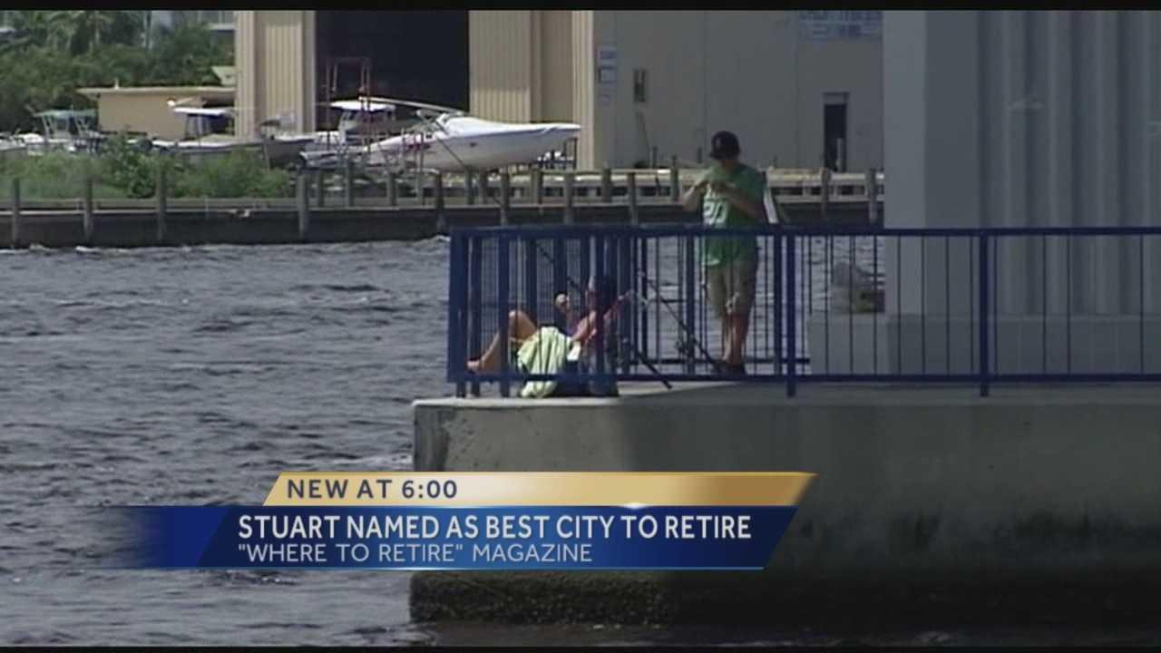 Stuart named top destination for retirees