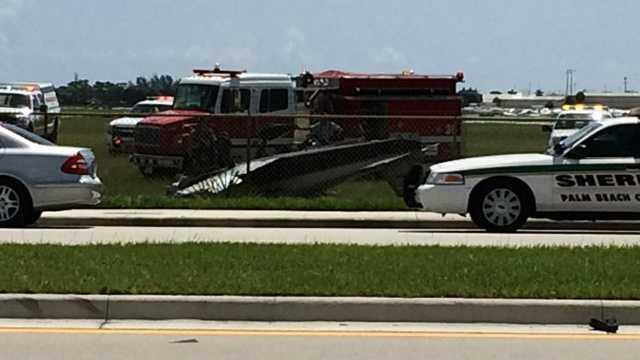 Lantana plane crash