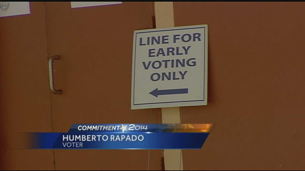 Voters cast ballots for August primary