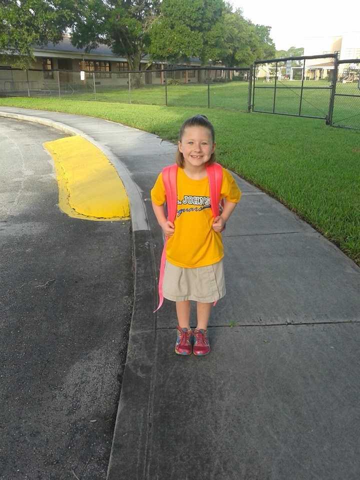 Big oll 1st grader :) --from Akristia Allman