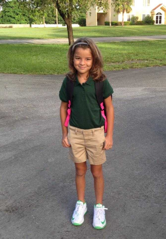 Ready for 3rd grade! --From Jessica Difloria