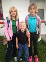 5th , Kindergarten , 4th grade-- From Amber Smith