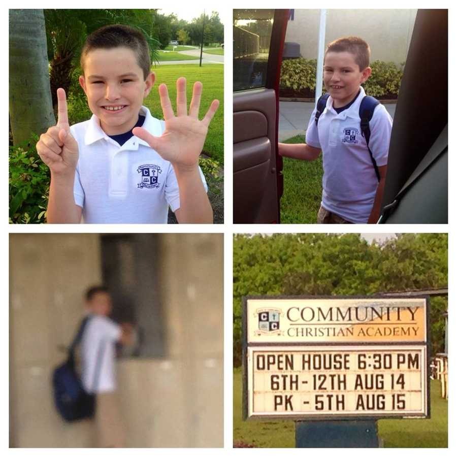 Our one & only is a 6th grader-- From Martha Gillespie-Beeman