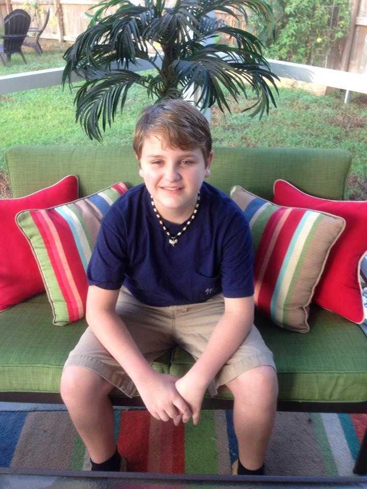 My 7th grader! --From Tessa Lester Hill