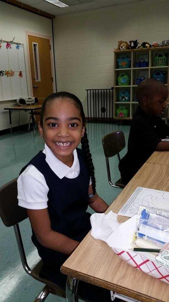 Alicia's 1st day of 1st grade-- From Carlene Leslie