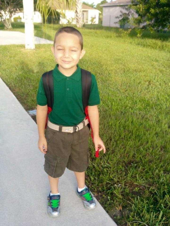 Big first grader -- From Kenda Keiser