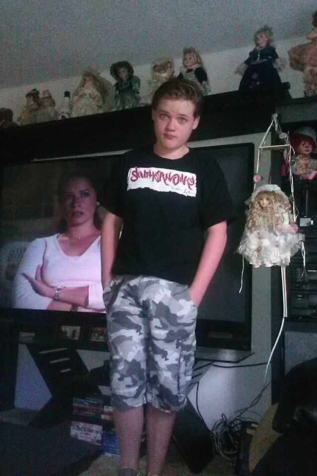 Cody ready for 7th grade --From Kimberly Joanne Preiss Venderwerff
