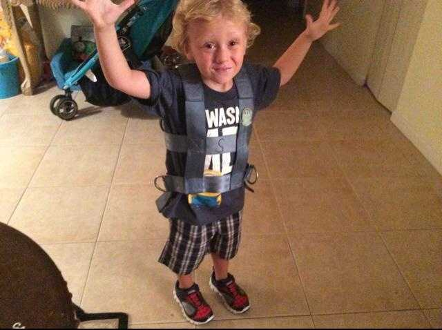 Super excited to take the bus to VPK. -- From Rachel Joy Pfister