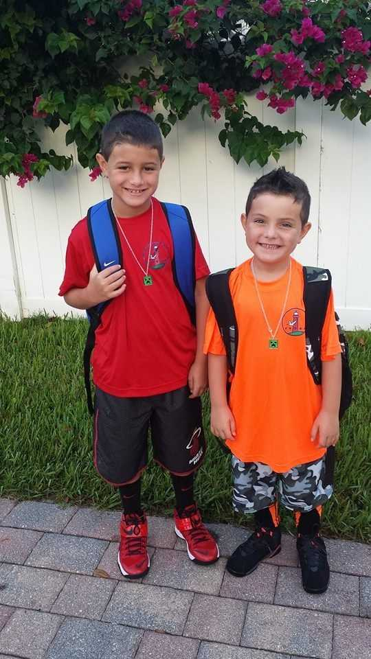 Ty and Ryder...5th & 2nd grade! -- From Tracy McKenzie