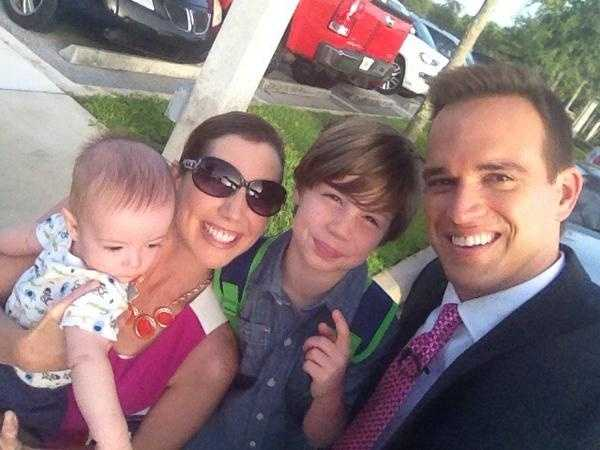 Our own WPBF 25's Paul LaGrone's son Jacob started 1st grade today.