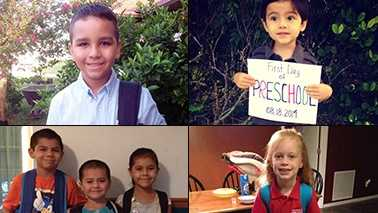 Everyone's excited for Back to School day--including WPBF viewers! Check out the flood of photos we received from parents on Facebook.