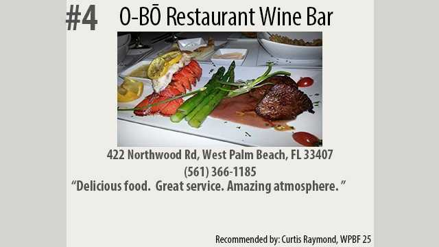 Click here to learn more about O-BO Restaurant Wine Bar.