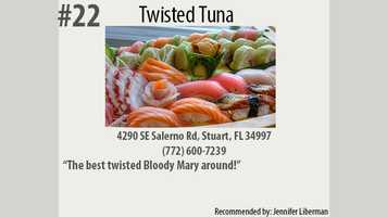 Click here to visit The Twisted Tuna's website.