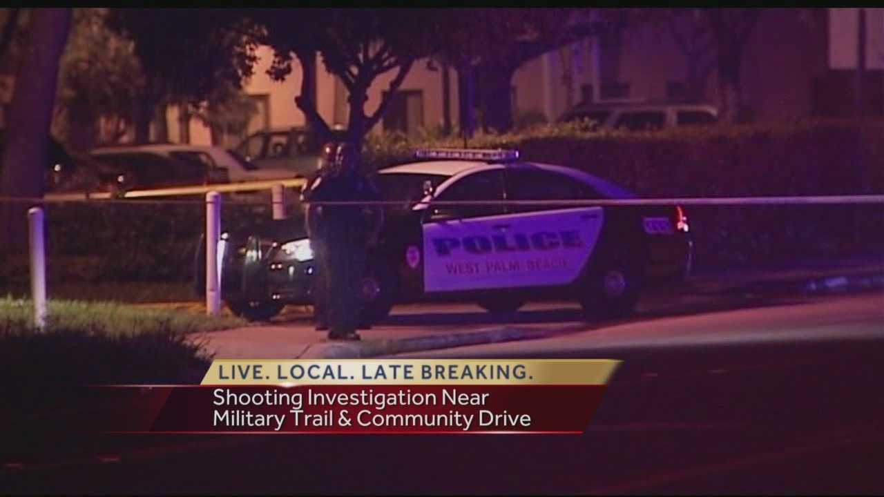 A homeless man was shot multiple times when he tried to fight off two armed robbers overnight outside a West Palm Beach apartment complex, investigators confirmed to WPBF 25 News.