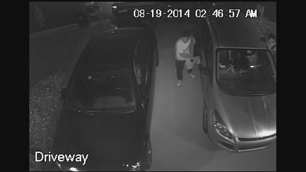 Surveillance video captures a group of teens trying to break into a couple of cars in the Greenacres area. One of the vehicles was unlocked and you can clearly see someone going through the arm rest.