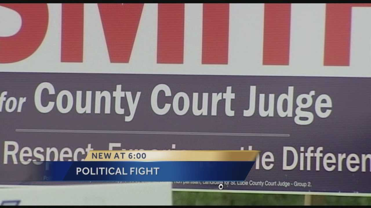 Police called to confrontation between judge candidates