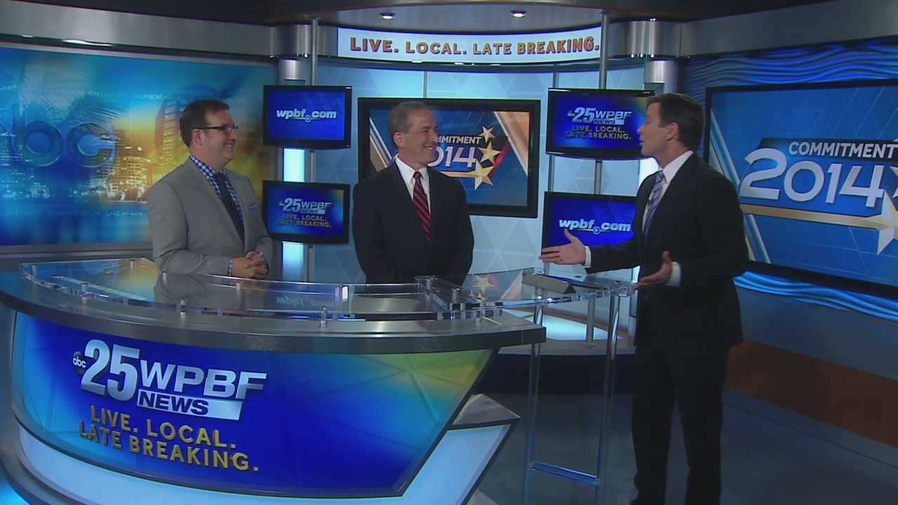 Exclusive political analysts Ron Klein and Adam Hasner join WPBF's Todd McDermott for an in-depth discussion of the 2014 Florida primary and voter breakdown.
