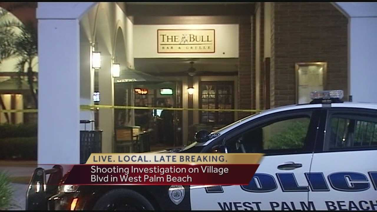 A bullet grazes a man in the head after an overnight argument escalates outside a West Palm Beach bar. Police said they responded to a shooting call shortly after 1:45 a.m. outside The Bull Restaurant & Grille in the Publix shopping plaza along Village Boulevard. Reporter Chris McGrath has the story.