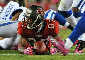 Preston Parker during his time with the Tampa Bay Buccaneers.