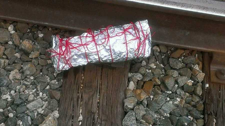 On Sunday, a concerned citizen called the Indian River County Sheriff's Office Public Safety Dispatch to report an individual seen placing suspicious packages on the railroad tracks near Roseland Road. Upon opening the packages, deputies discovered cow tongues with nails and pins stuck in them.