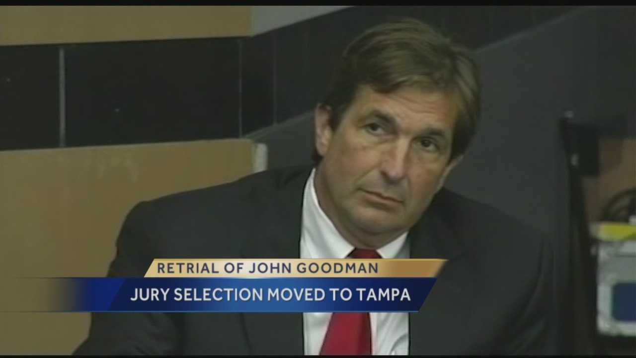 The jury selection portion of polo mogul John Goodman's DUI manslaughter trial may take place in Tampa, not Palm Beach County. Chief Judge Jeffrey Colbath has a motion hearing scheduled Sept.11 to discuss changing the jury selection venue, but according to emails obtained by WPBF 25 News, it appears the decision has already been made. Investigative reporter Terri Parker has the latest.