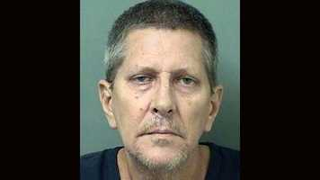 Scott Gipper, 55, is facing a charge of attempted murder, according to the Palm Beach County Sheriff's Office.