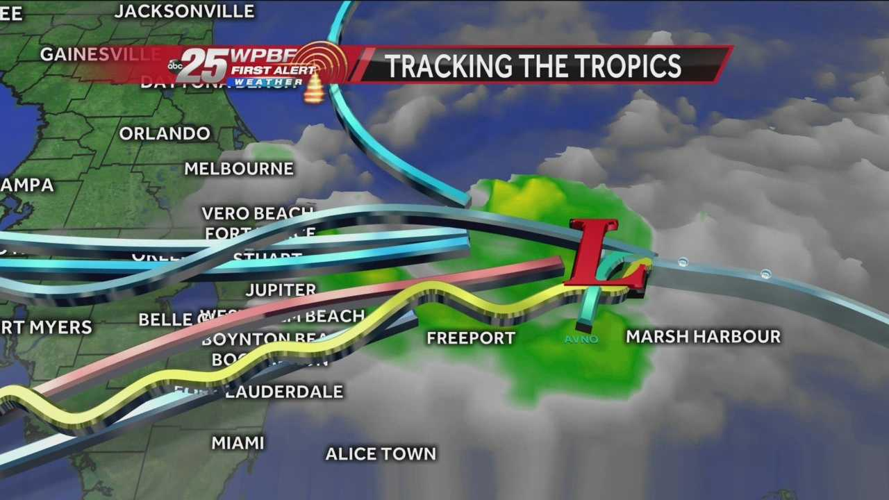 Invest 92L is moving toward South Florida. Palm Beach County will likely see showers and storms from the system as early as Thursday afternoon and Thursday evening.