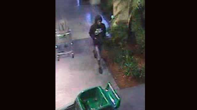An image captured by surveillance of the man suspected of stealing from the Boy Scout Troop.