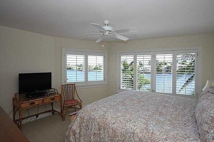 This room is smaller but has a first-class view of the ocean.