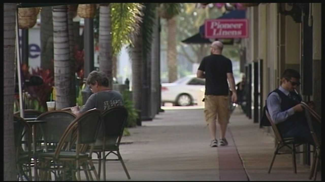 A new report from a Washington DC based firm finds downtown West Palm Beach is pedestrian friendly, but has room for improvement. The study, released Tuesday to the Downtown Development Authority, is nearly a year in the making after city planner and urban designer Jeff Speck spent four days in town last November collecting data. Reporter Chris McGrath discusses the findings.