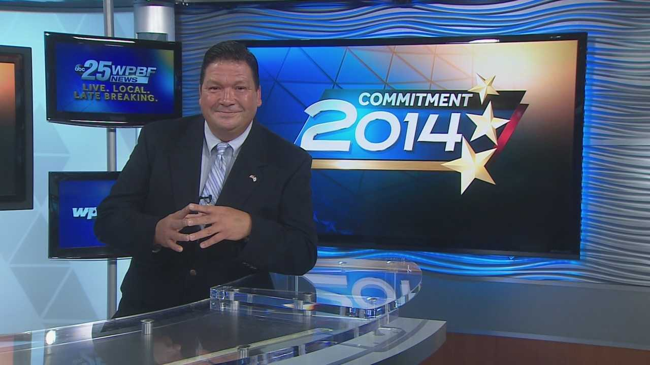 Bruno Moore is the 2014 Democratic candidate for Florida State Senate -- District 32.