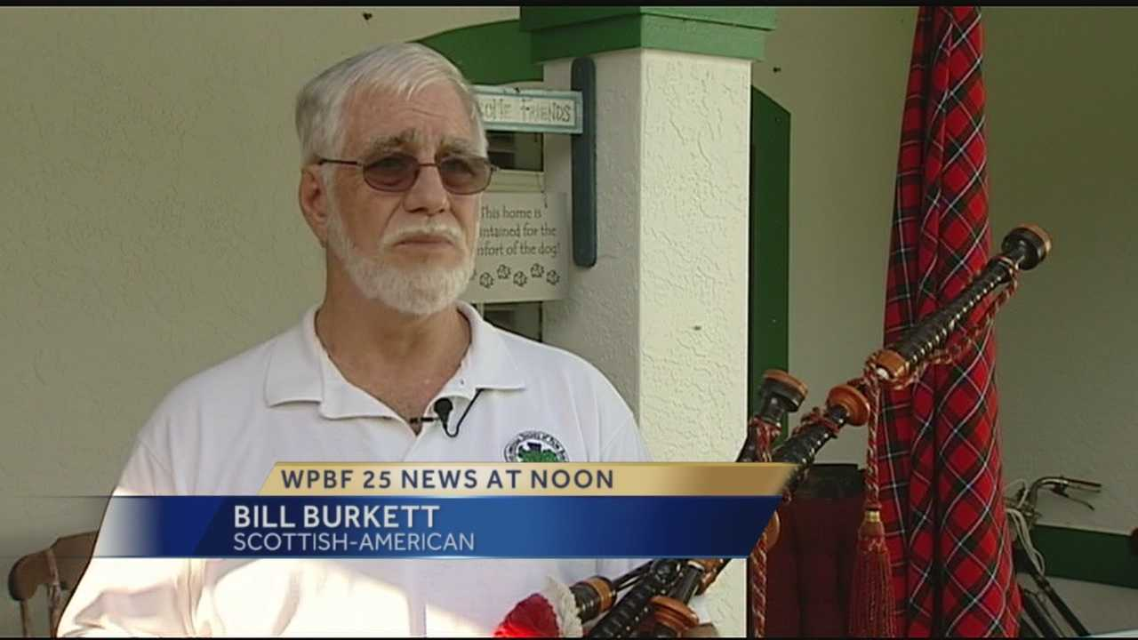 A Jupiter Farms man is keeping a close eye on Scotland as voters head to the polls to decide the fate of the nation. Bill Burkett is a second generation Scotsman and the former president of the Scottish American Society of Palm Beach County. Chris McGrath reports.