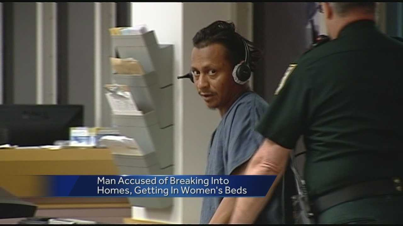 A man has just been arrested -- accused of breaking into homes and getting into bed with women. Ted White reports from Palm Springs where he spoke with one of the victims.